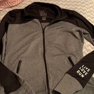 Active wear jacket.